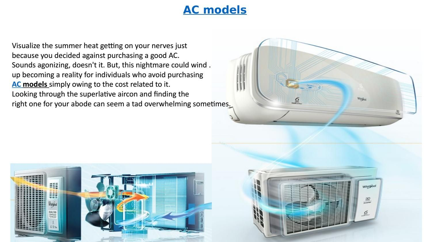 Tips on choosing the best air conditioner model for your