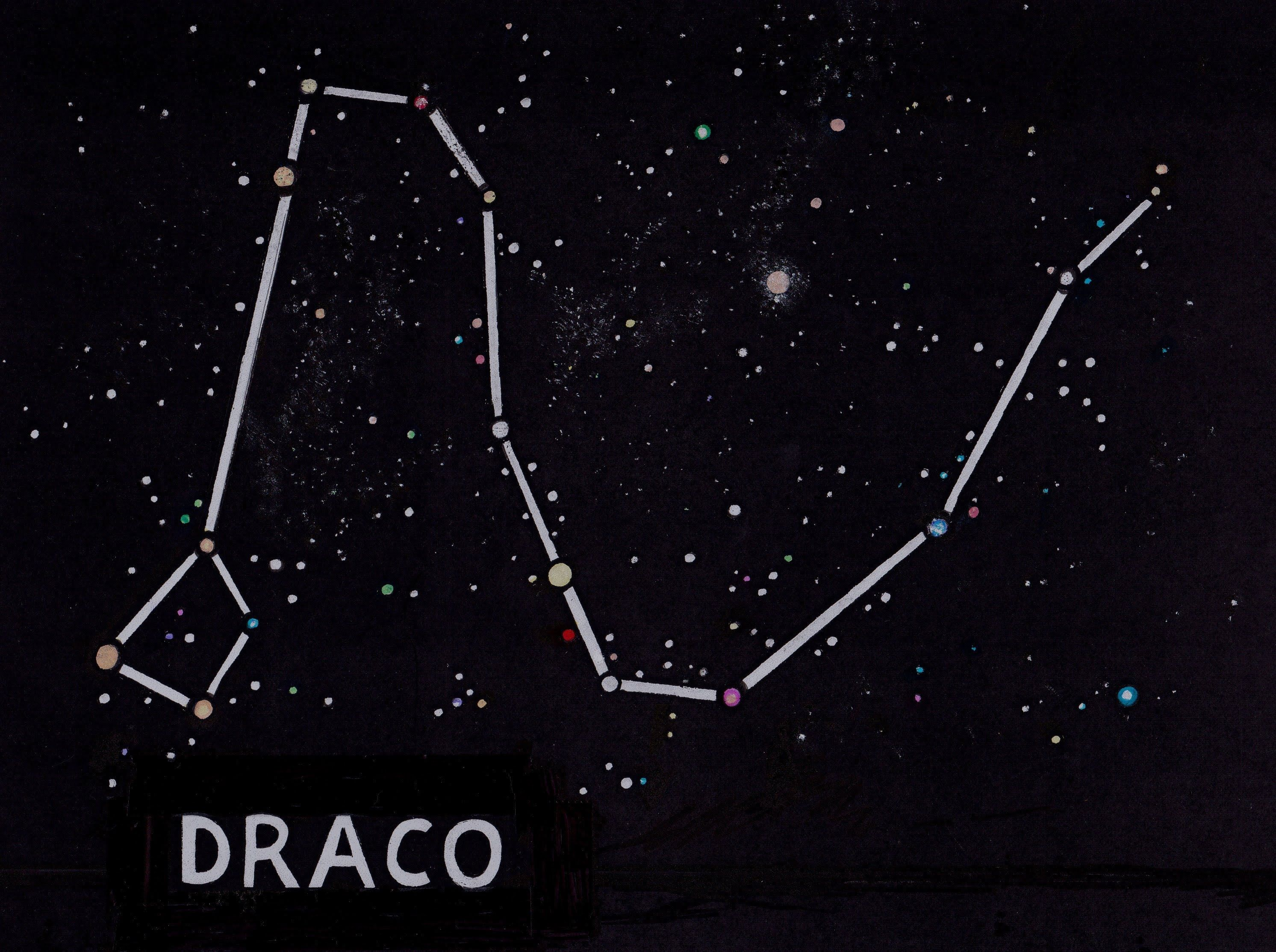 draco constellation - Google Search | Space/Stars | Draco