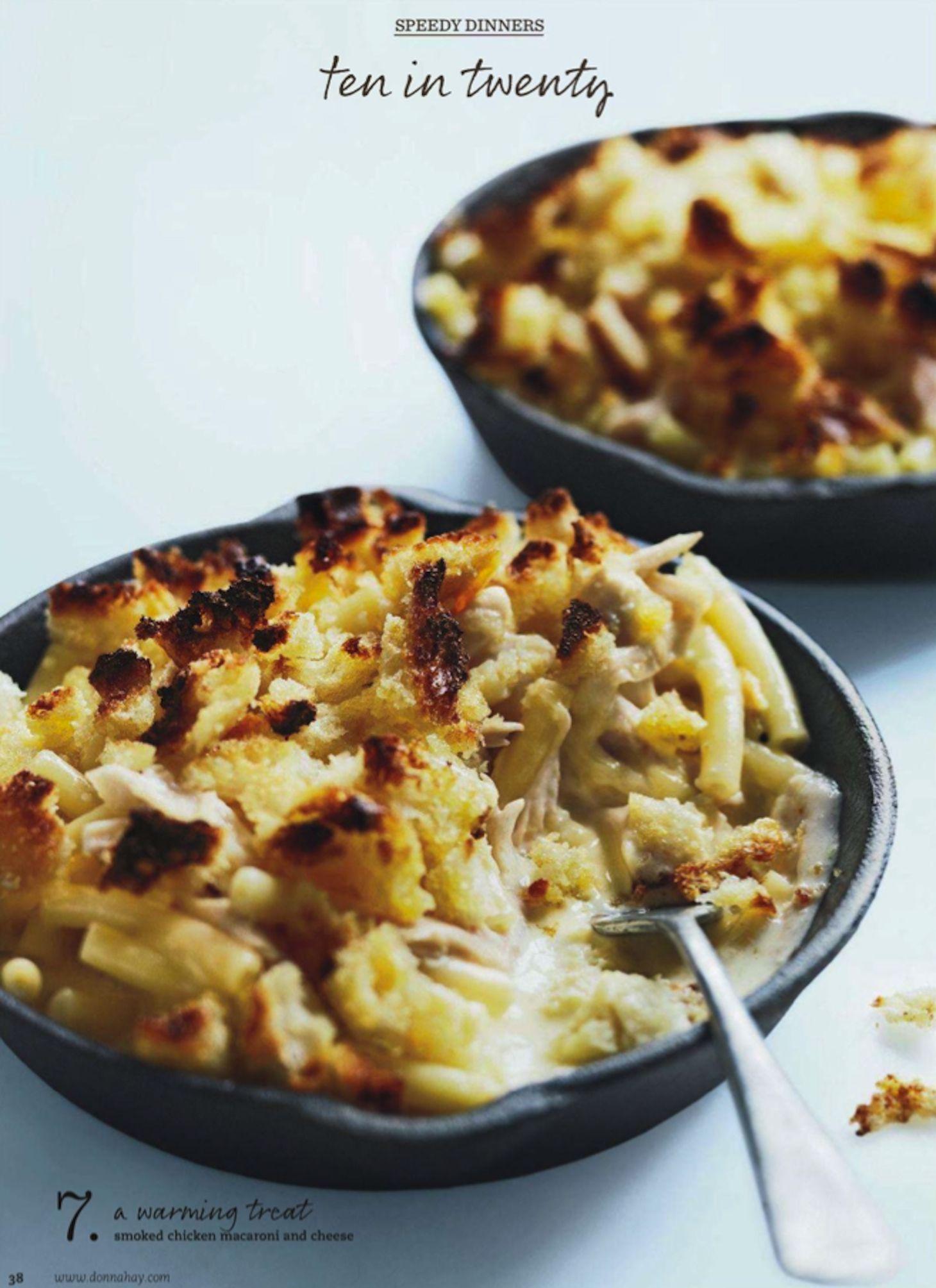 Smoked Chicken Macaroni Cheese Donna Hay Magazine