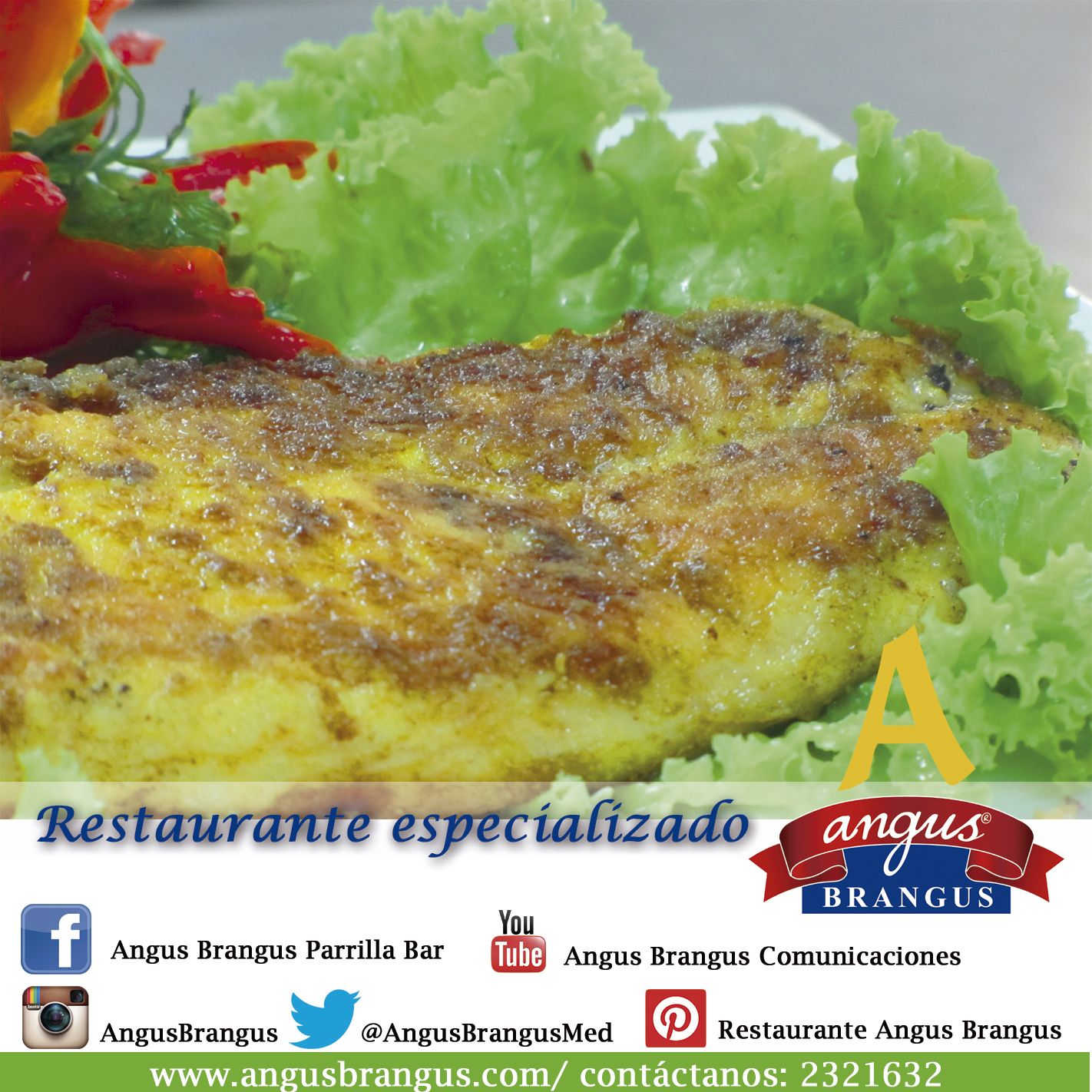 ¿Ya sabes dónde almorzar? en #AngusBrangus encuentra una gran variedad de preparaciones internacionales. ¡Ven y disfrútalos! #RestaurantesMedellín #RestaurantesEspecializados #Recomendados #Hoy