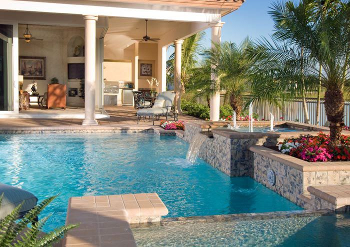Custom home builder naples florida divco construction corp Swimming pool contractors fort myers florida