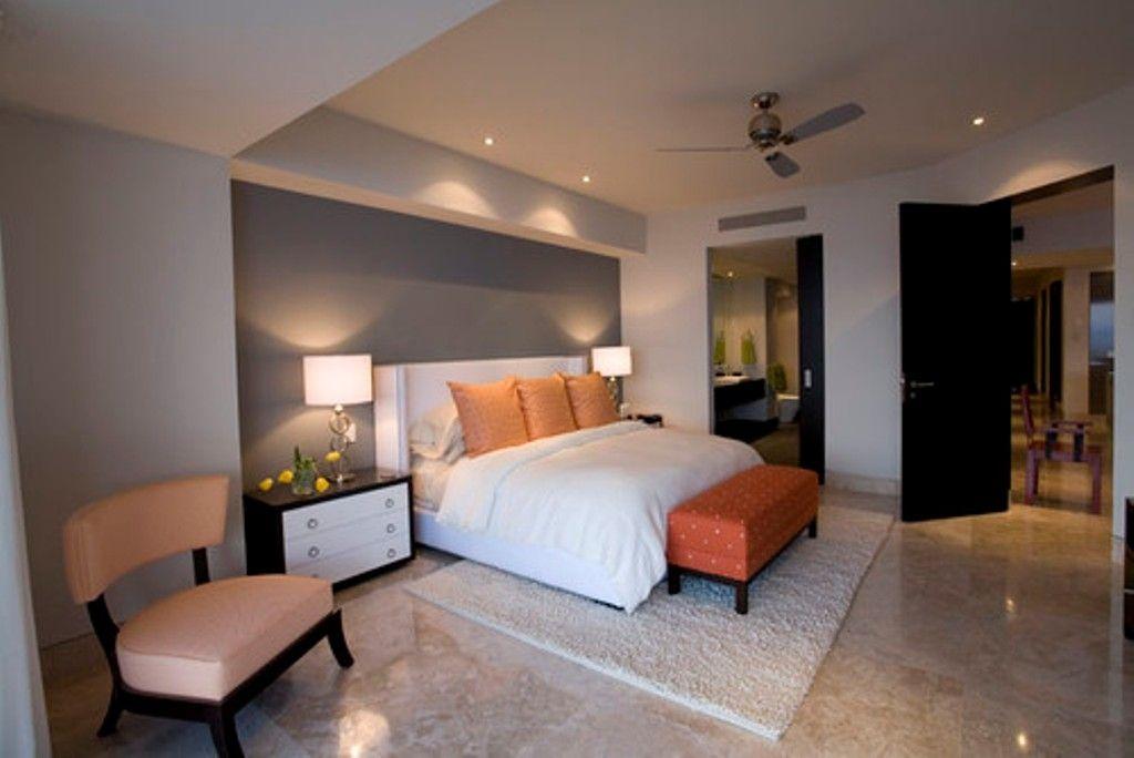 Gute Farben Zu Malen, Ein Schlafzimmer Mit Grau Akzent Wand