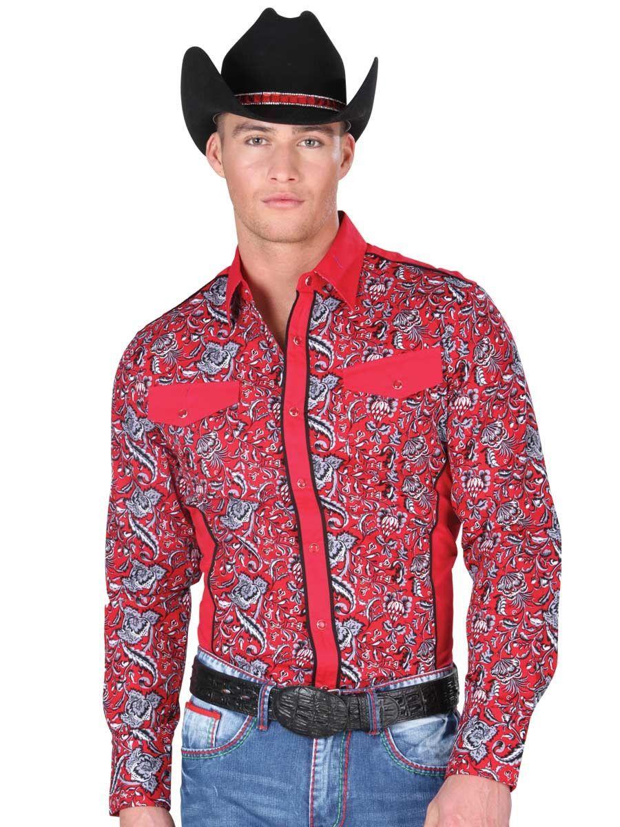 34227 Camisa Vaquera Manga Larga De Hombre \'El General\', 100% Cotton ...