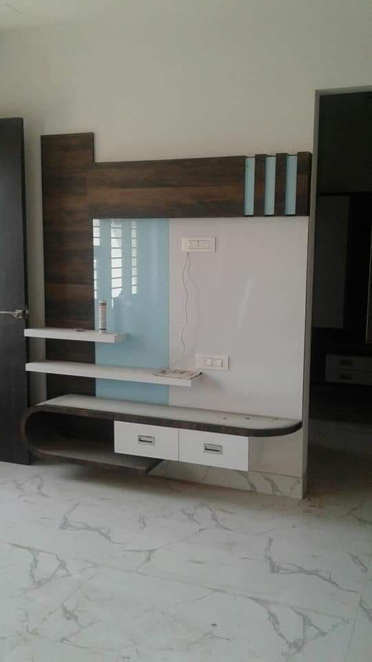 Lcd Panel Tv Unit Design For Living Drawing Room Bedroom: Lcd Panel Design, Living Room Lighting Design