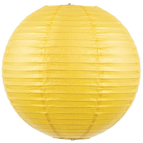 Paper Lanterns Walmart New Yellow Lighted Paper Lantern  Softball Grad Ideas  Pinterest Design Decoration
