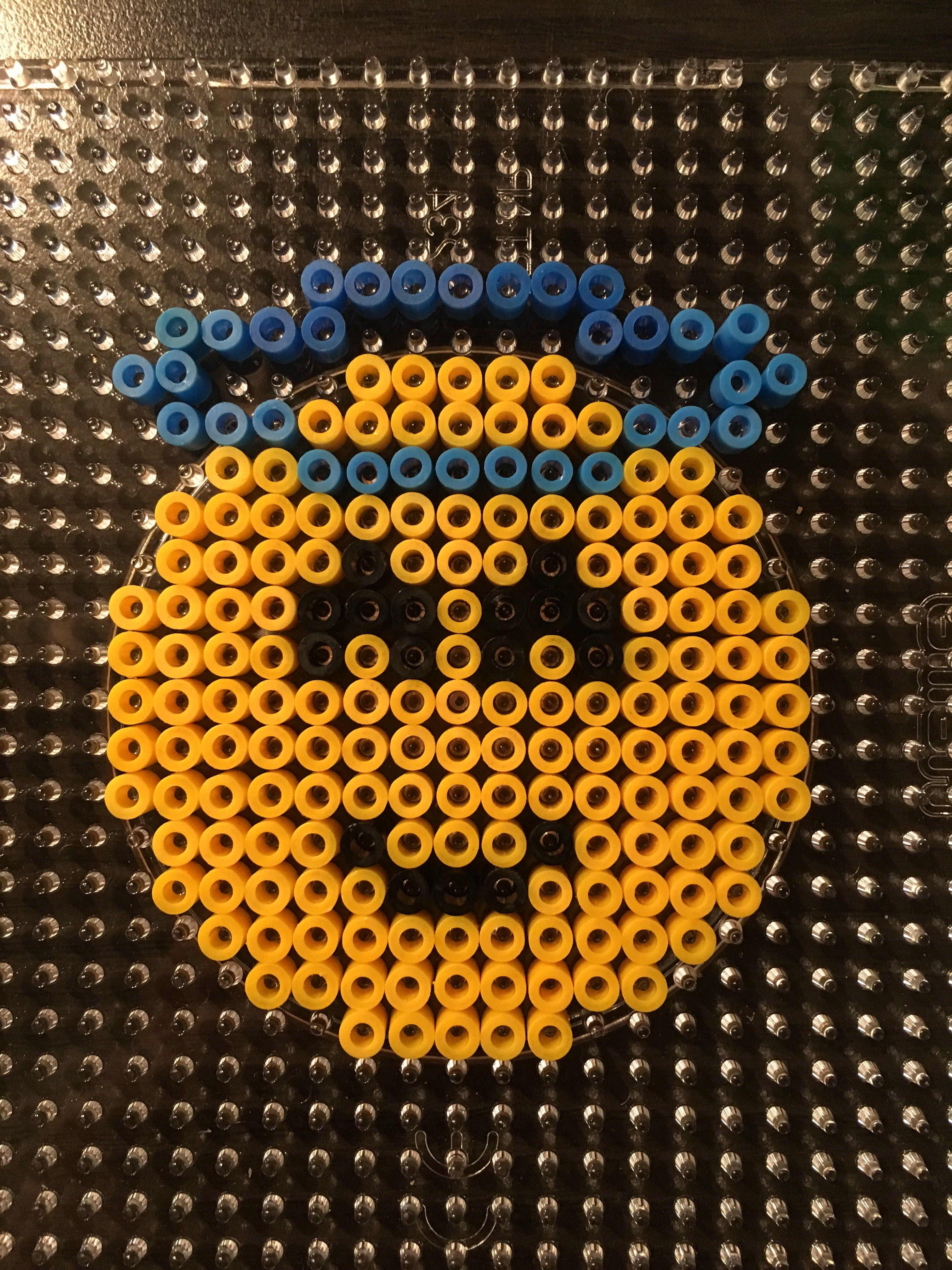 Hama Bead Smiley Angel Perler Beads Hama Beads Beading