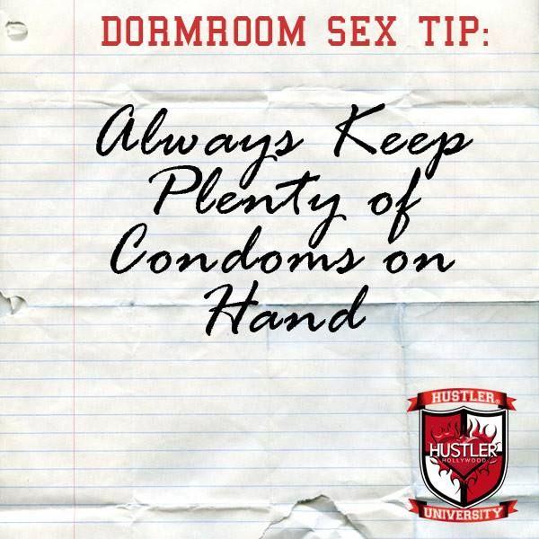 no Hustler condoms find