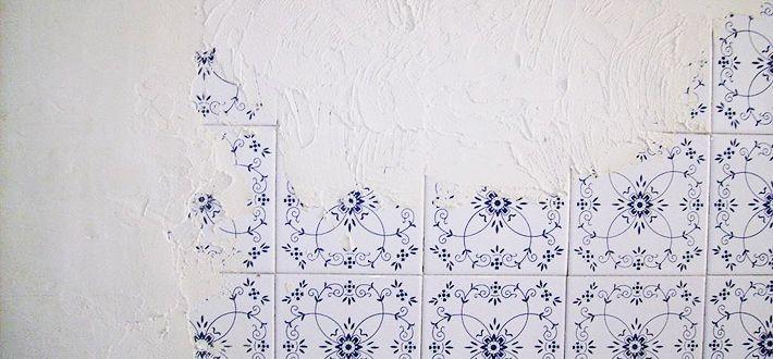 Papel pintado sobre los azulejos 5 decorar paredes pinterest papel pintado decorar - Papel pintado para banos sobre azulejos ...