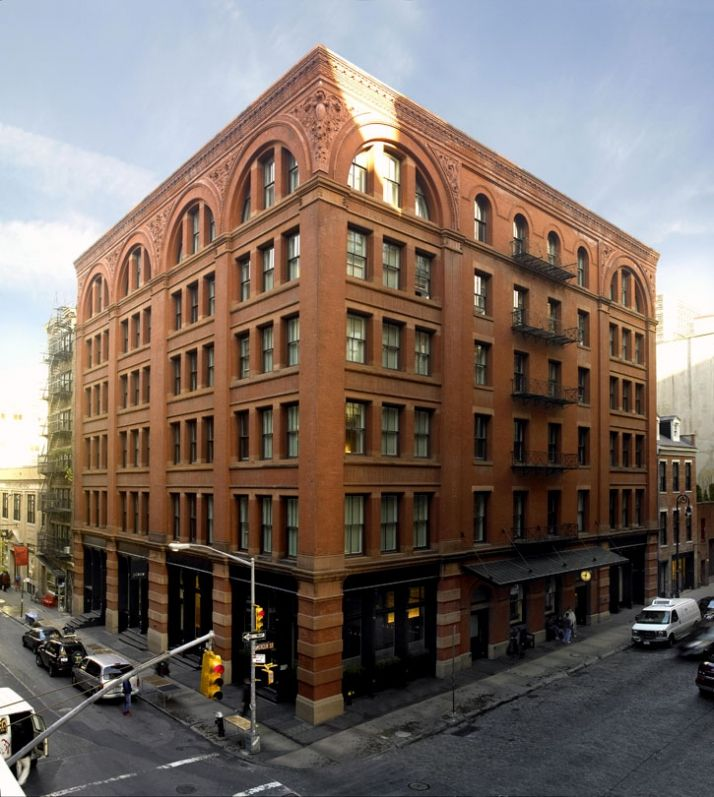 The Mercer Hotel In Heart Of Soho New York City