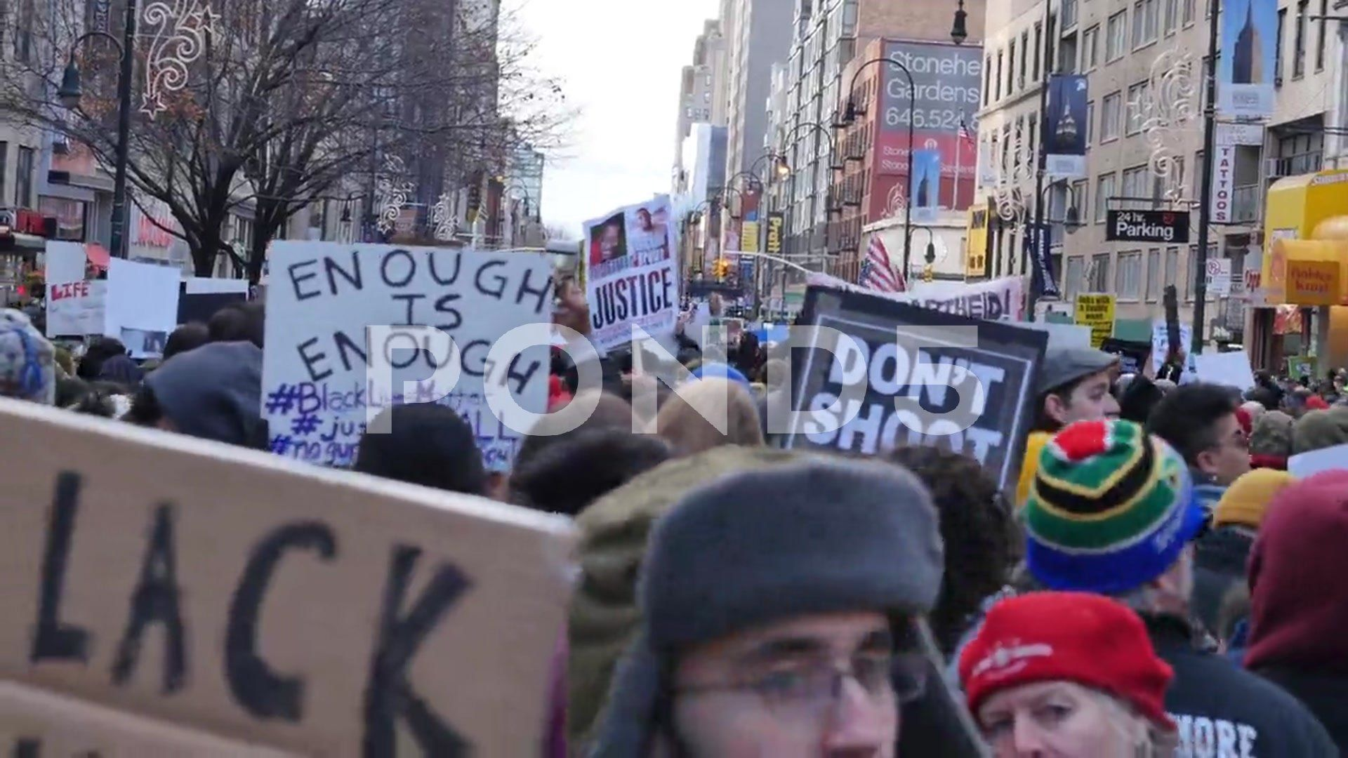 Black Lives Matter New York City Police Protesters March Stock Footage Ad York City Black Matter Black Lives Matter Black Lives Matter Protest Lives Matter