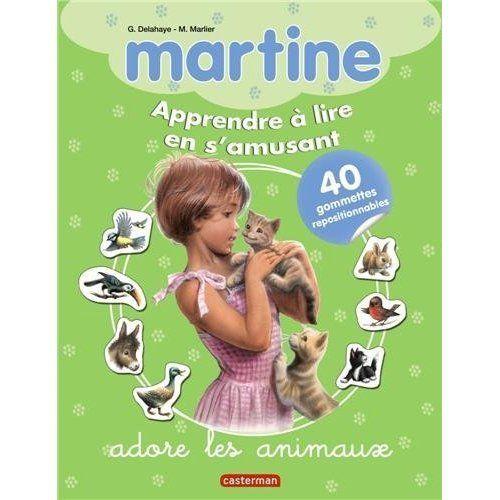 Apprendre-a-lire-Martine-adore-les-animaux-Gilbert