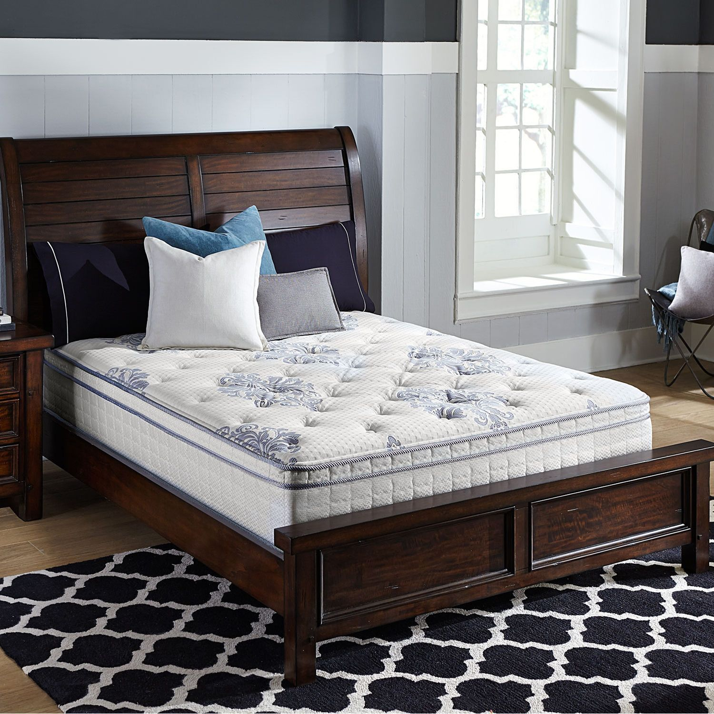 Serta Perfect Sleeper Valleybrook Cushion Firm Eurotop