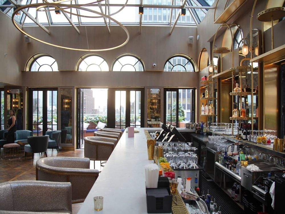 The best NYC rooftop bars open during the winter | Rooftop ...