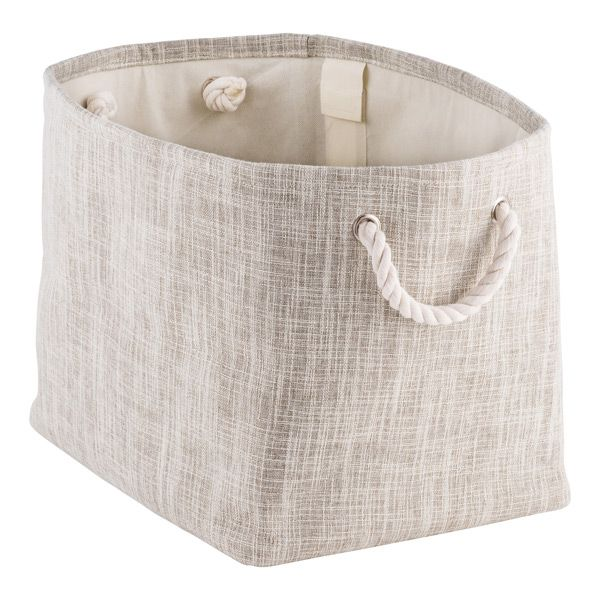 Sophisticated And Stylish, Our Multifunctional Flax Bins Are Just Right For  Throw Pillows And Blankets