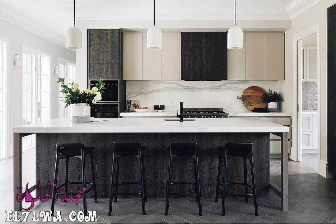 ديكورات مطابخ 2021 صور مطابخ سوف نتعرف سوي ا عبر هذا المقال على ديكورات مطابخ 2021 يعد المطبخ من American Kitchen Design Kitchen Design Modern Kitchen Design