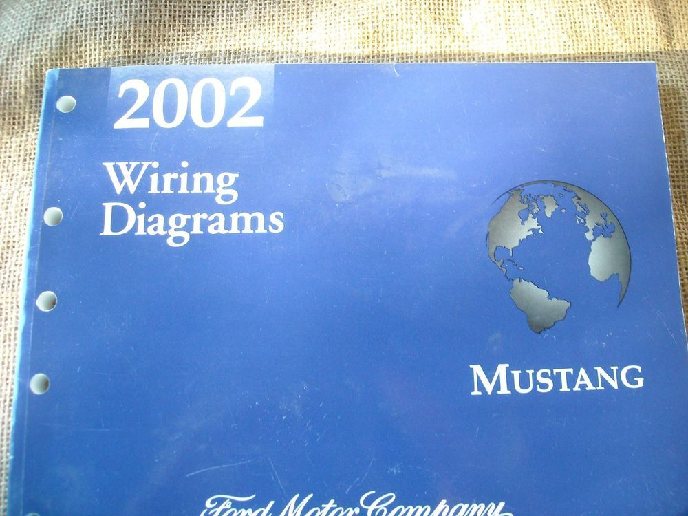 2002 Ford Mustang Factory Electrical Wiring Diagrams