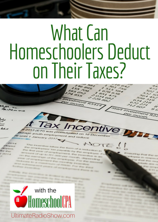 What Can Homeschoolers Deduct on Their Taxes? with the Homeschool CPA, Carol Topp.