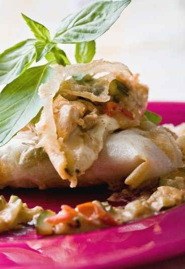 Receita de massa folhada de frango com mussarela - Massa folhada: receitas com massa folhada