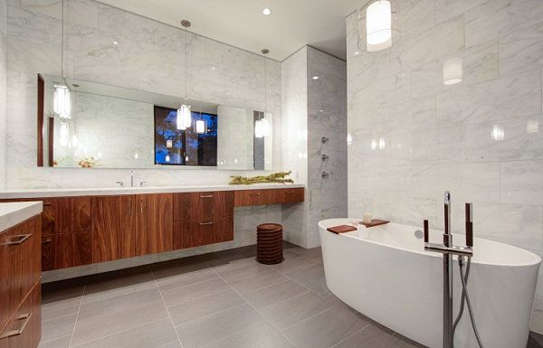 AuBergewohnlich Bathroom Decorating Tips For A Clean Look