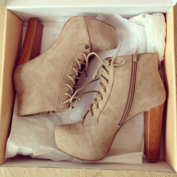 Find Out Where To Get The Shoes | Beige high heels and Tan heels