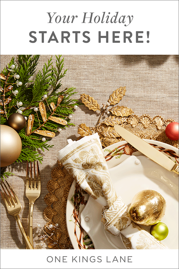 Your Holiday Starts Here From The Treetop To The Tabletop To The Presents Under The Tree Shop The D Christmas Table Decorations Holiday Deco Christmas Table