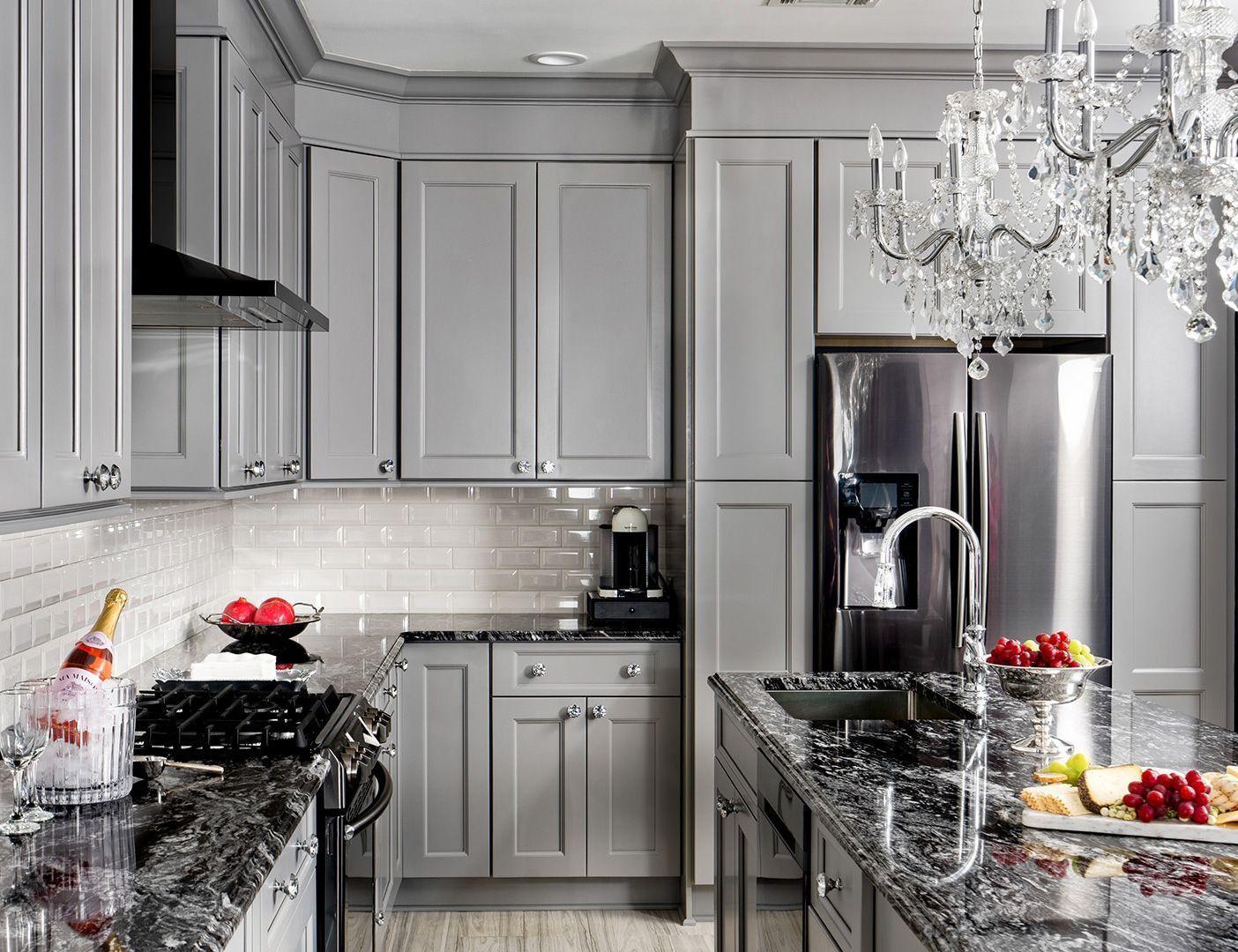 Fabuwood Allure Nexus Slate Cabinets In 2020 Grey Kitchen Cabinets Kitchen Cabinets Slate Kitchen