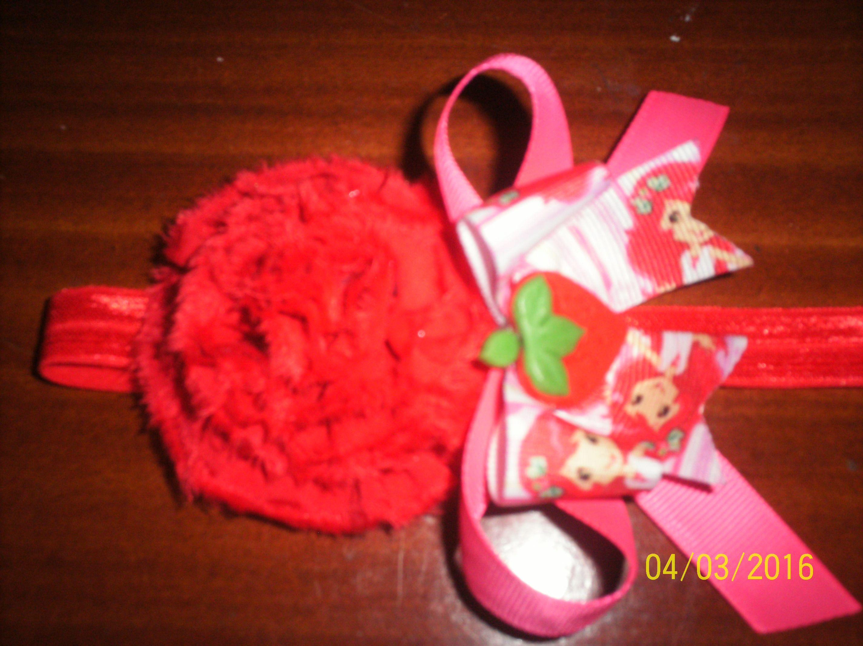 Blumenel Knüpfen diadema de rosita fresita diademas para niñas