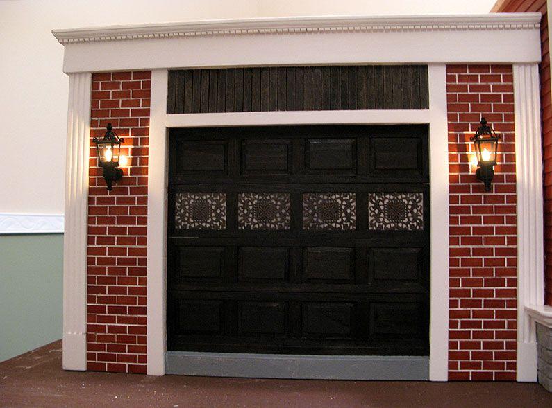 Garage Door Window Covering