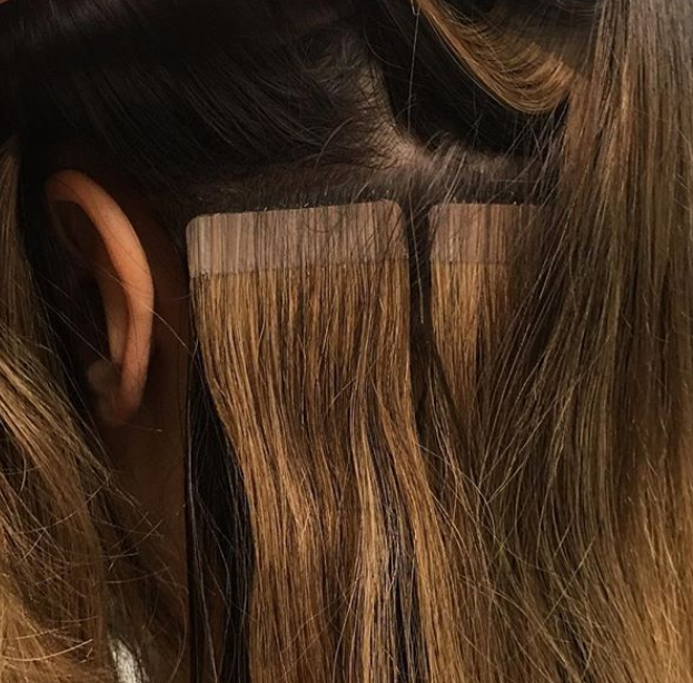 Can Tape In Hair Extensions Damage Your Hair Vibrant Tape In Hair