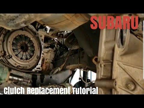 14 Subaru Forester Clutch Replacement Tutorial Youtube Subaru Forester Subaru Tutorial