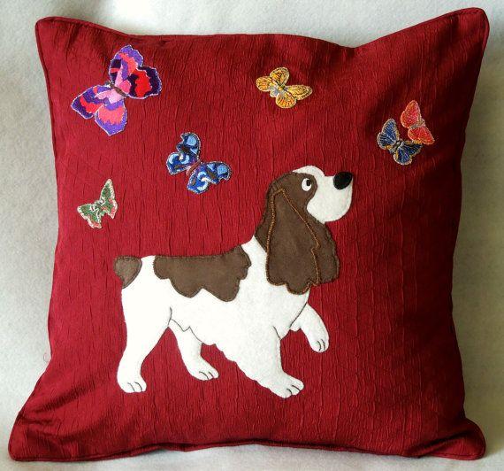 Animal Pillow Pinterest : Animal pet applique decorative cushion/pillow by NaturelandsAndCo, $35.00 ??????? / Pillows ...