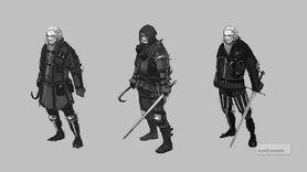 Geralt looking a bit Liam Neeson.