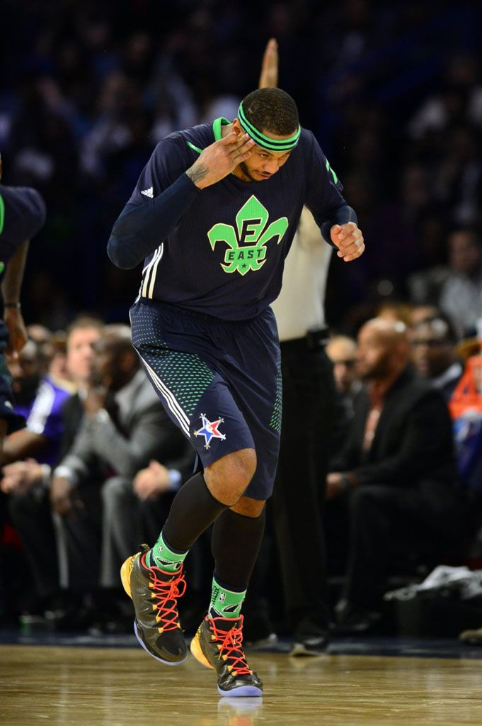 Carmelo Anthony wearing Jordan Melo M10 All-Star  1cc139608f1a