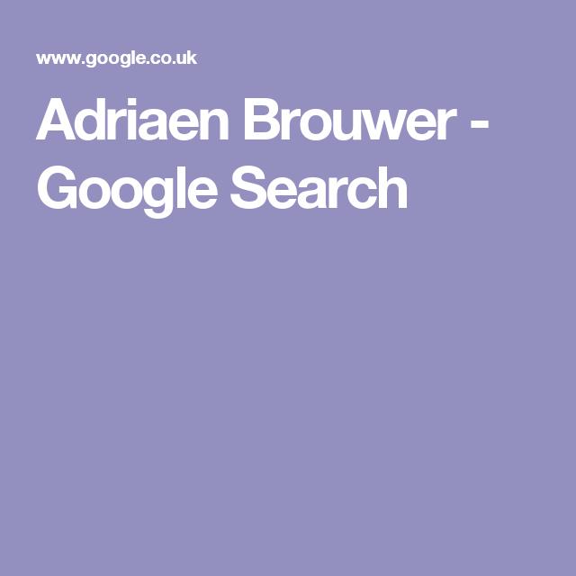 Adriaen Brouwer - Google Search