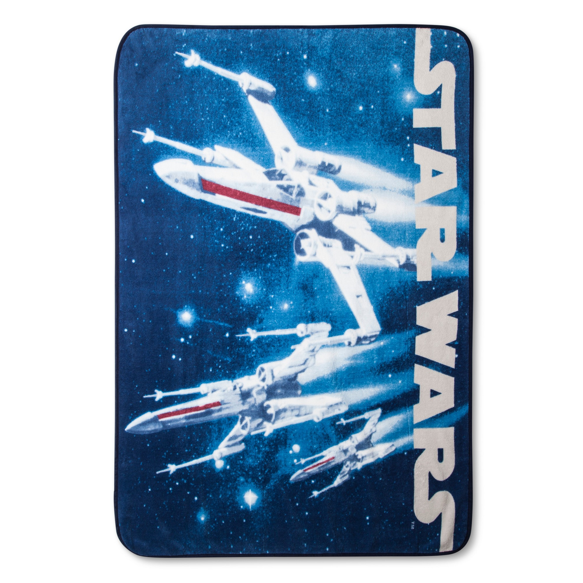 Star Wars Classic Logo Blue Throw Blanket 46 Quot X60 Quot Star