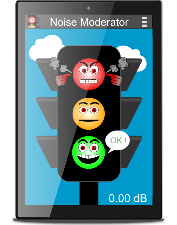 Noise Moderator Android app Android apps, App, Android