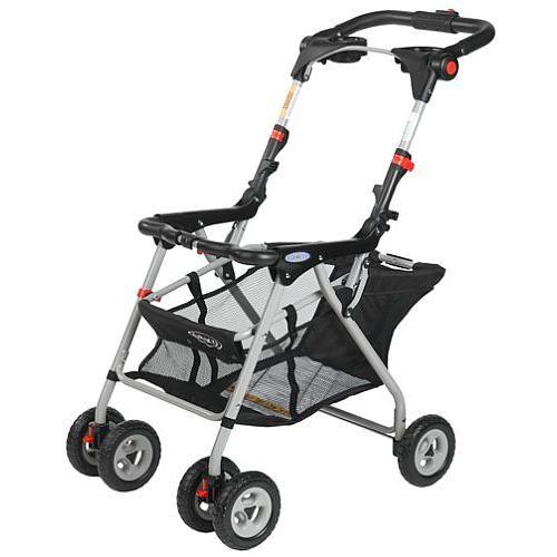 69 98 Graco Snugrider Infant Car Seat Frame Stroller