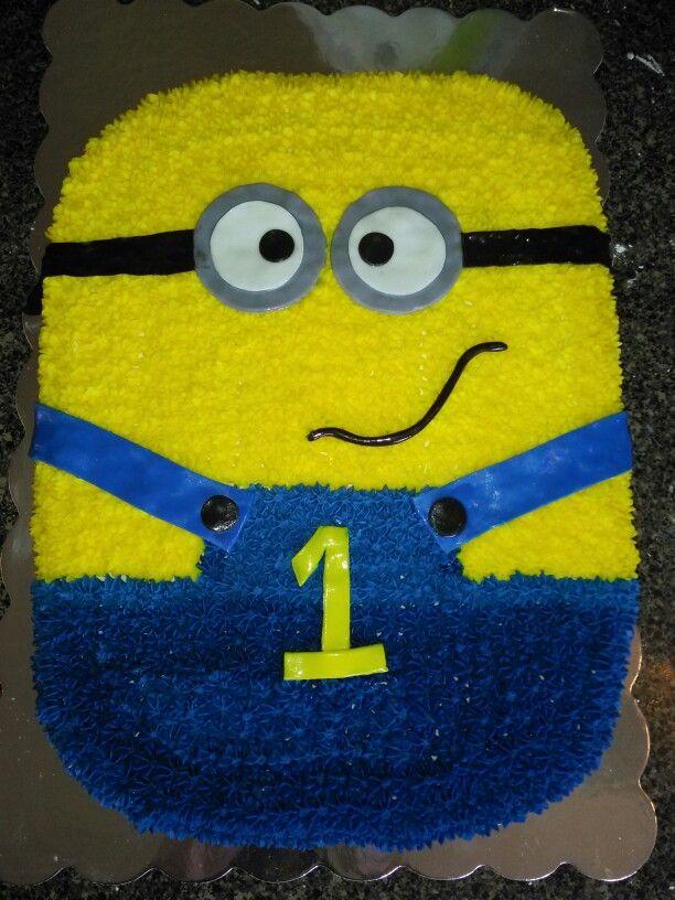 Minion Cake 1st Birthday