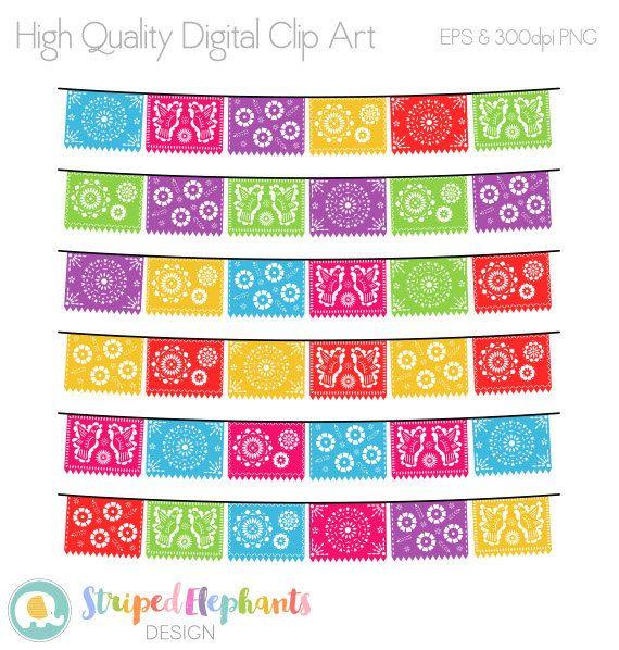 Papel Picado Clipart Printable Mexican Banners Clip Art Cinco De Mayo Clip Art Banner Clip Art Clip Art Papel Picado