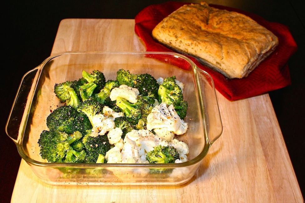 Roasted Broccoli and Cauliflower • Great Food and Lifestyle