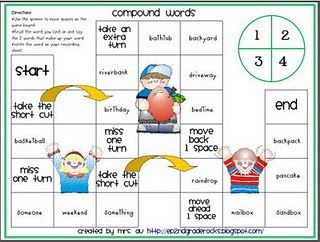 2nd Grade Reading Street Great Resource Board Games More