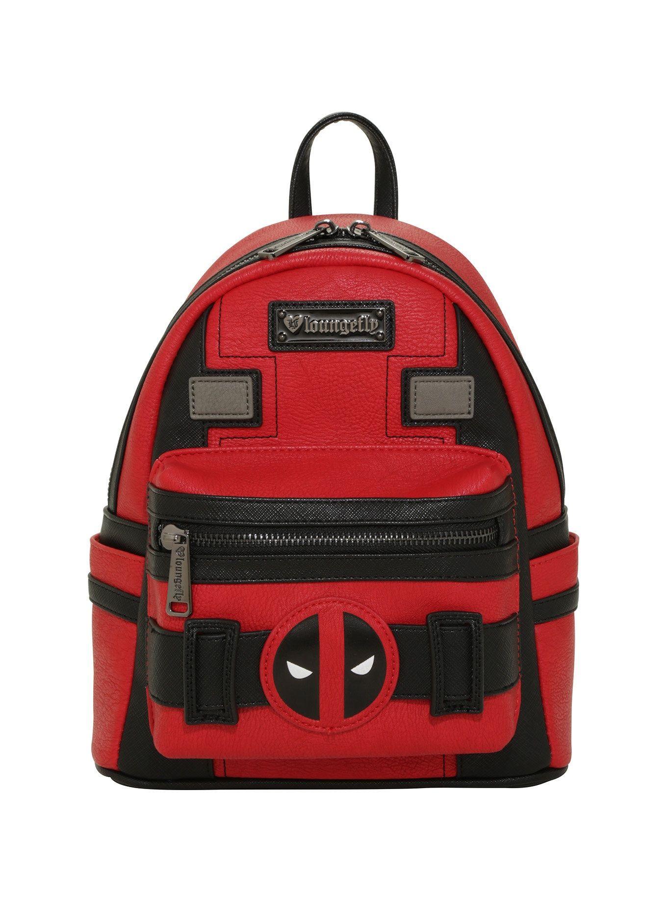 7ebcbf15c00 Loungefly Marvel Deadpool Suit Mini Backpack