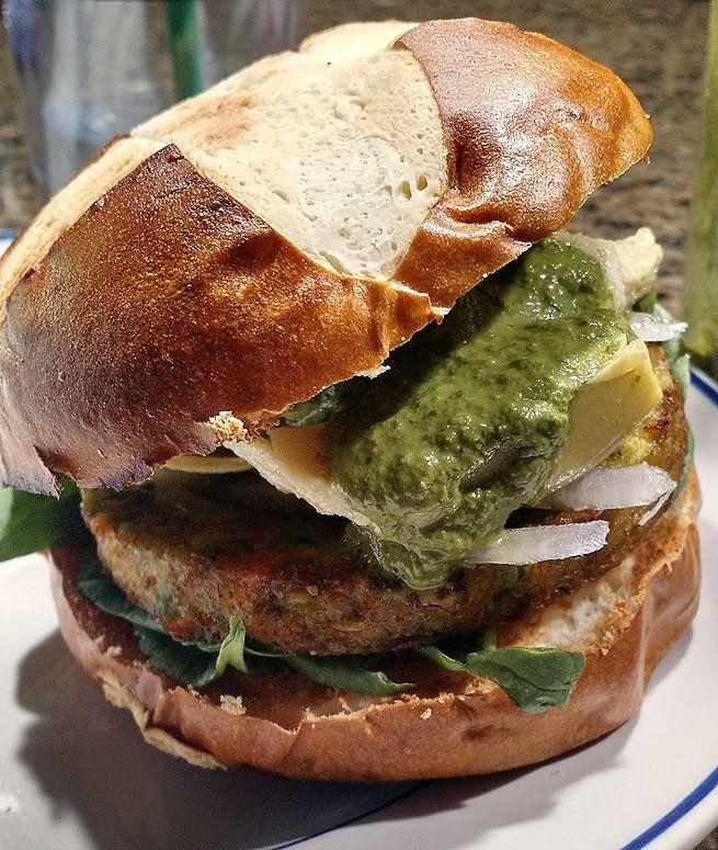 Burger Bliss: Italian Pesto Burger