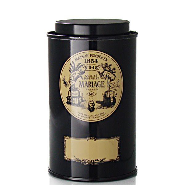 mariage fr res boite classique bo te th vide 100 g 100 g empty tea tin for 15. Black Bedroom Furniture Sets. Home Design Ideas