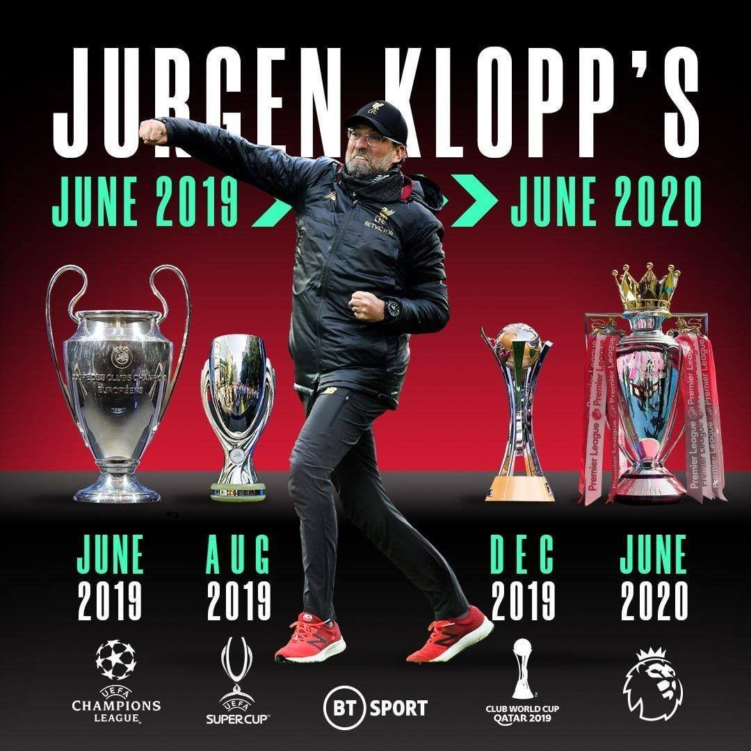 "BT Sport on Instagram: ""Jürgen Klopp is building a dynasty at Liverpool  Football … in 2020 | Liverpool football, Liverpool football club  wallpapers, Liverpool football club"