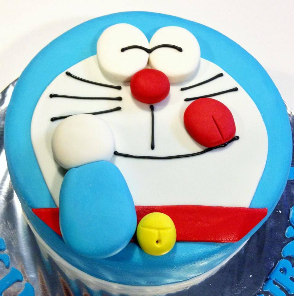 Doraemon Cake Cartoon Cakes Fun Birthday