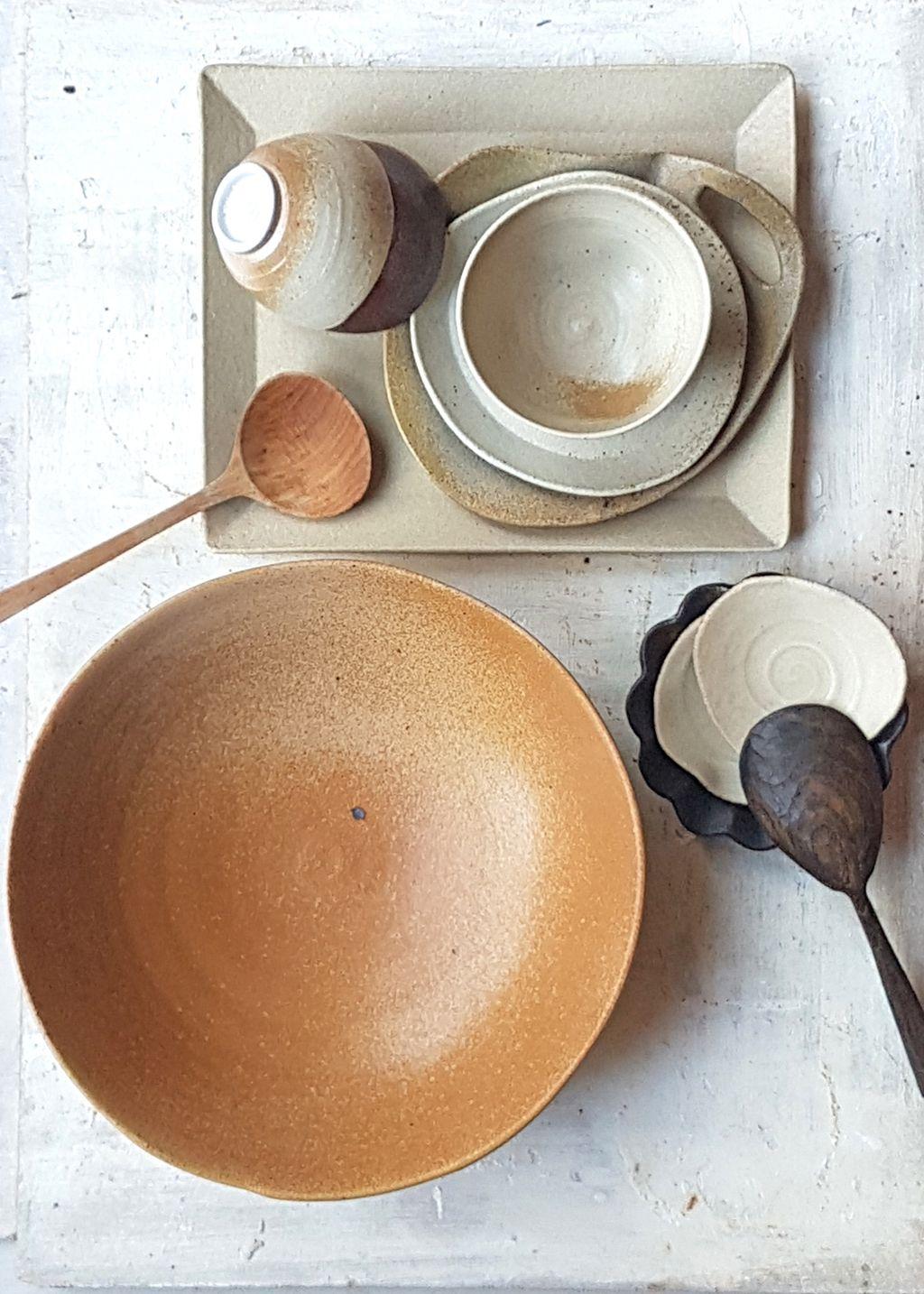Tableware Mix And Match All Different Shapes Handmade By Marjoke De Heer Keramiek Servies Serviesset