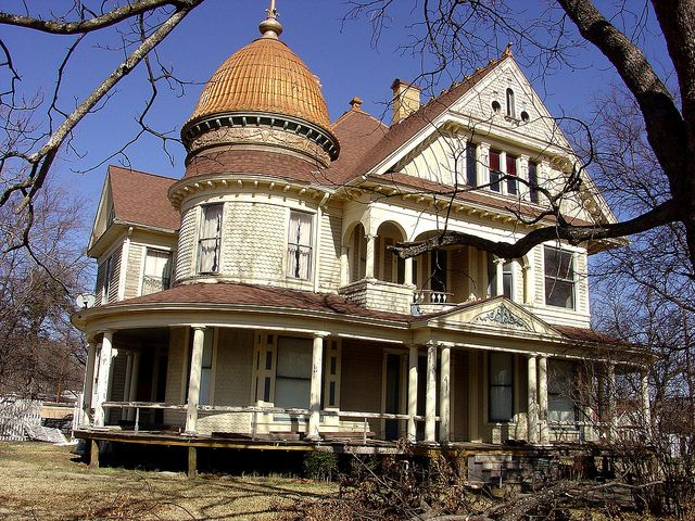 Honey Grove TX George Barber design | Victorian, Queen anne and Mansion