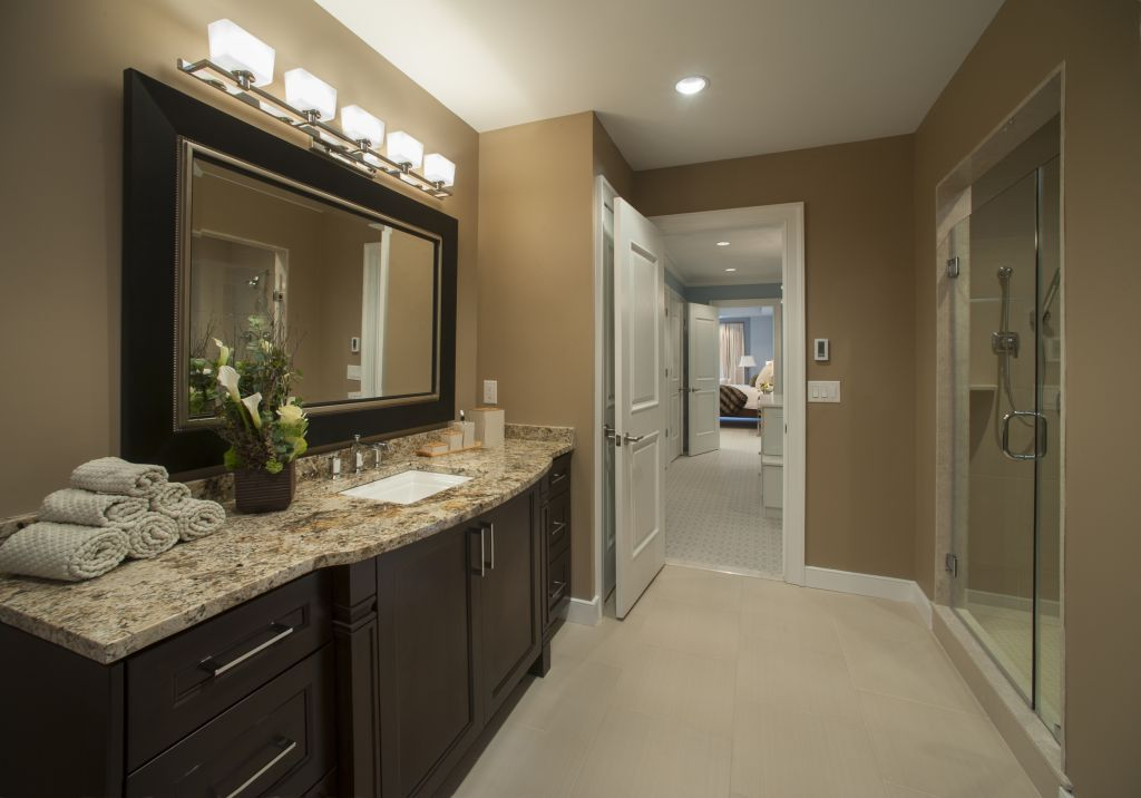 Bathroom Gallery | Colonial gold granite, Granite ...