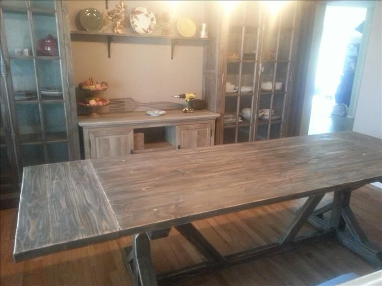 Building A 10 Person Dining Room Table Is Our Project Of The ...